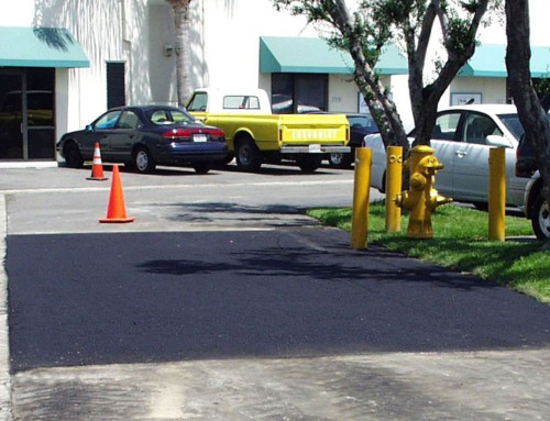 Parking Lot Large Pot Hole Repair